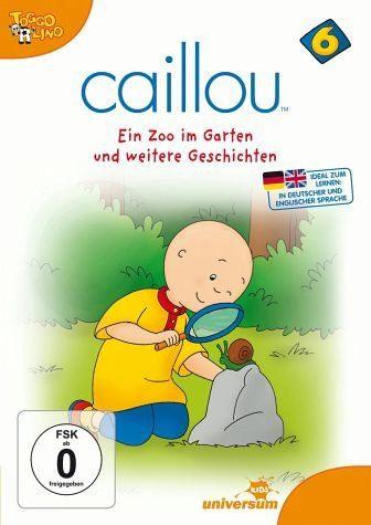 DVD »Caillou 06 - Ein Zoo im Garten und weitere...«
