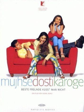 DVD »Mujhse dosti karoge - Beste Freunde küsst man...«