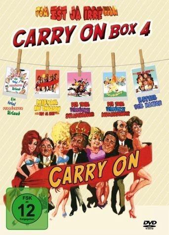 DVD »Ist ja irre - Carry On Box 4«