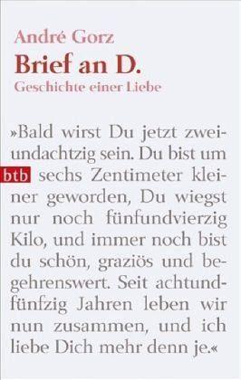 Broschiertes Buch »Brief an D.«