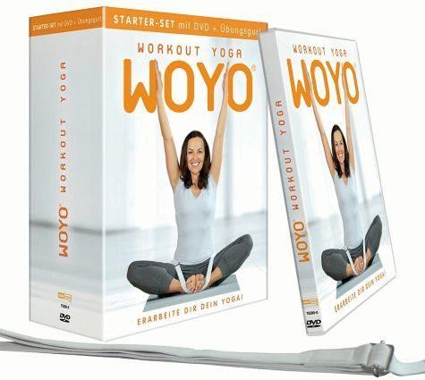 DVD »Woyo Workout Yoga - Starterset mit Übungsgurt«