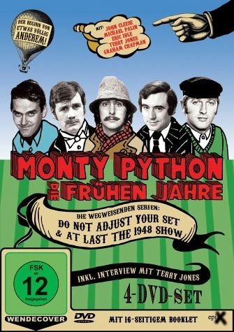 DVD »Monty Python - Die frühen Jahre (OmU, 4 DVDs,...«