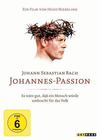 DVD »Bach, Johann Sebastian - Johannes-Passion«