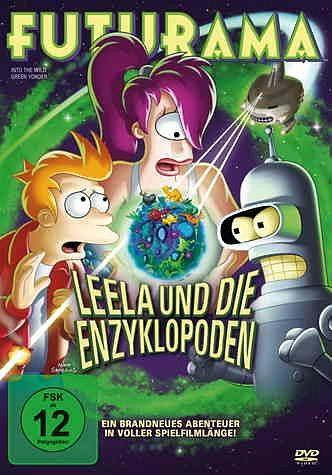 DVD »Futurama: Leela und die Enzyklopoden«