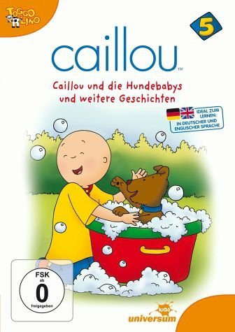 DVD »Caillou 05 - Caillou und die Hundebabys und...«