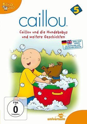 DVD »Caillou 05 - Caillou und die Hundebabys und...«