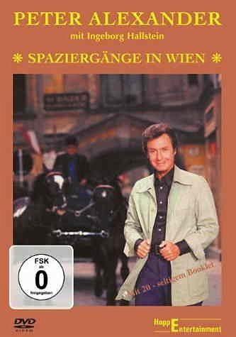 DVD »Peter Alexander - Spaziergänge in Wien«
