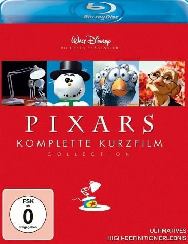 Blu-ray »Pixars Komplette Kurzfilm Collection, 1...«