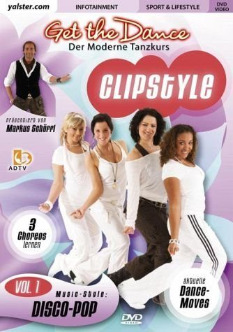 DVD »Get the Dance - Clipstyle Vol. 1: Disco-Pop«