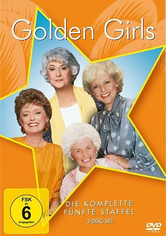 DVD »Golden Girls - Die komplette fünfte Staffel (3...«