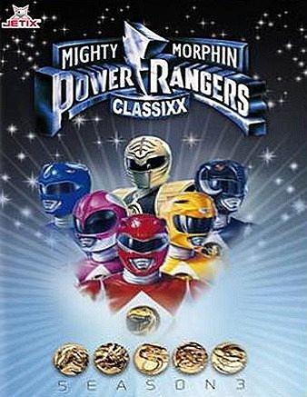 DVD »Power Rangers - Mighty Morphin Power Rangers...«