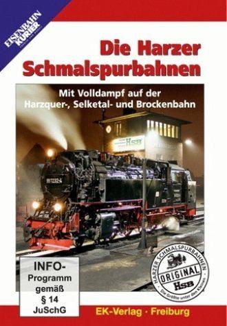 DVD »Die Harzer Schmalspurbahnen«