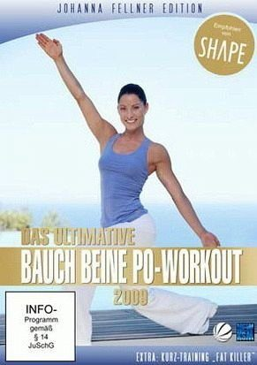 DVD »Johanna Fellner Edition - Das ultimative Bauch...«