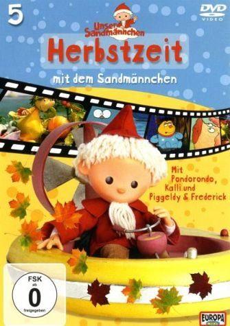 DVD »Unser Sandmännchen 5: Herbstzeit mit dem...«