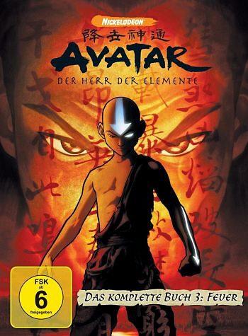 DVD »Avatar - Der Herr der Elemente, Das komplette...«