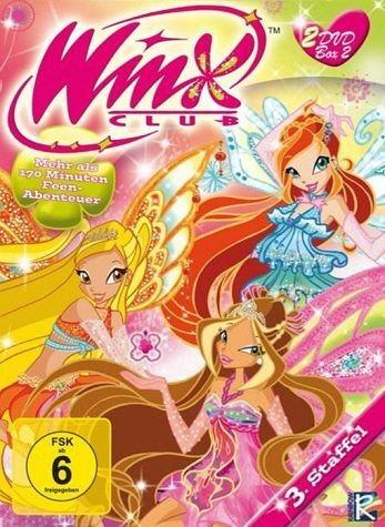 DVD »The Winx Club - The Winx Club 3.Staffel, Box 2...«