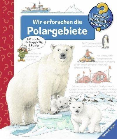Buch mit Papp-Einband »Wir erforschen die Polargebiete / Wieso?...«