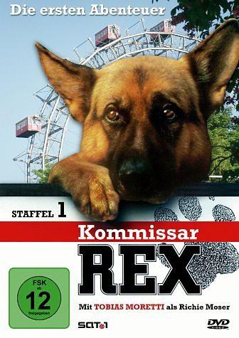 DVD »Kommissar Rex - Die ersten Abenteuer, Staffel 1«