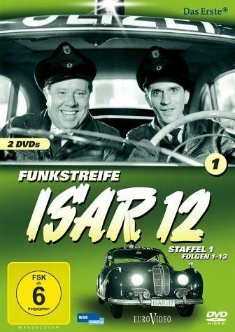 DVD »Funkstreife ISAR 12 - Staffel 1, Folgen 01-13...«