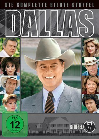 DVD »Dallas - Die komplette siebte Staffel (8 DVDs)«