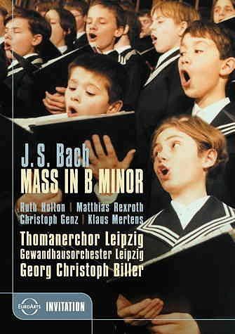 DVD »Bach, Johann Sebastian - H-Moll-Messe«