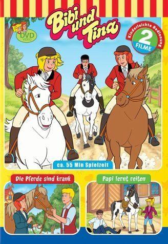 DVD »Bibi und Tina - Papi lernt reiten / Die Pferde...«