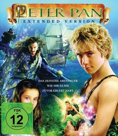 Blu-ray »Peter Pan (Extended Version)«
