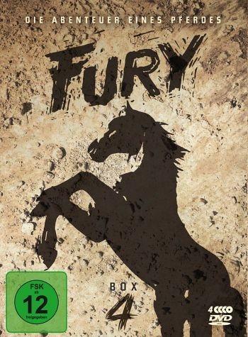 DVD »Fury - Box 4 (4 DVDs)«