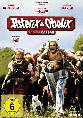 DVD »Asterix & Obelix gegen Caesar«