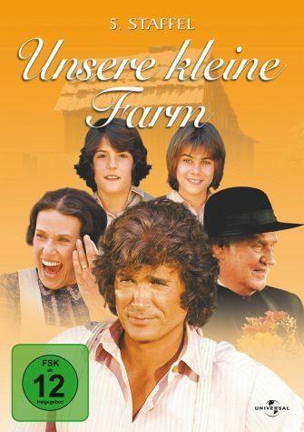 DVD »Unsere kleine Farm - 05. Staffel (6 DVDs)«