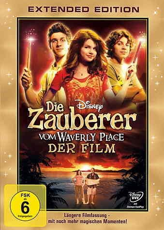 DVD »Der Zauberer vom Waverly Place - Der Film...«