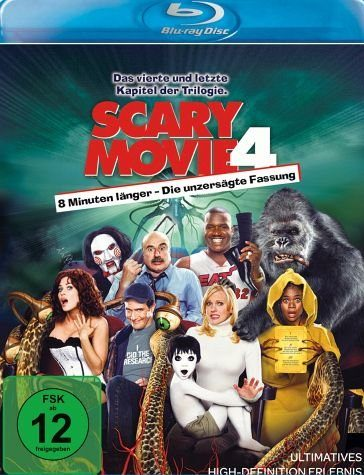 Blu-ray »Scary Movie 4«