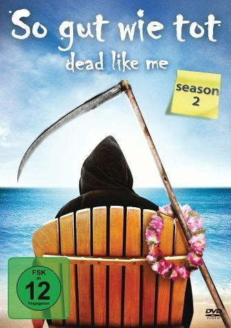 DVD »Dead Like Me - So gut wie tot , Season 2 (4 DVDs)«