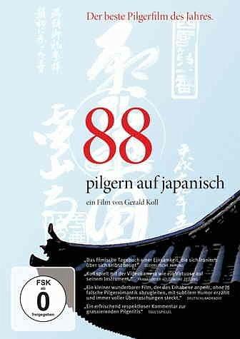 DVD »88 - Pilgern auf japanisch (tlw. OmU)«