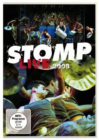 DVD »Stomp - Live 2008«