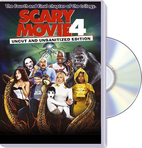 DVD »Scary Movie 4, DVD«