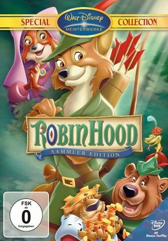 DVD »Robin Hood, Most Wanted Edition, 1 DVD-Video,...«