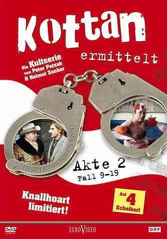 DVD »Kottan ermittelt - Akte 2: Fall 09-19 (4 DVDs)«