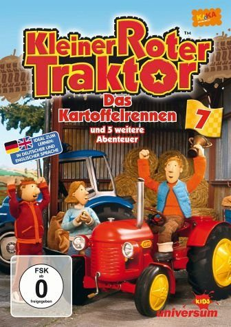 DVD »Kleiner roter Traktor 07 - Das Kartoffelrennen...«