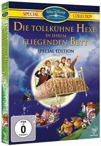 DVD »Die tollkühne Hexe in ihrem fliegenden Bett...«