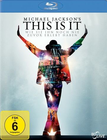 Blu-ray »Michael Jackson's This is it, 1 Blu-ray«