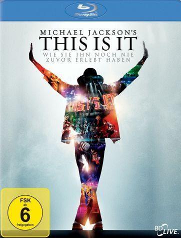 Blu-ray »Michael Jackson's This is it, 1 Blu-ray«