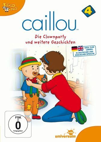DVD »Caillou 04 - Die Clownparty und weitere...«