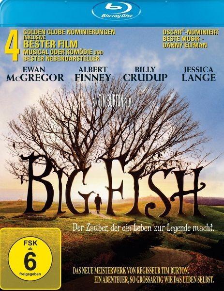 Blu-ray »Big Fish - Der Zauber, der ein Leben zur...«