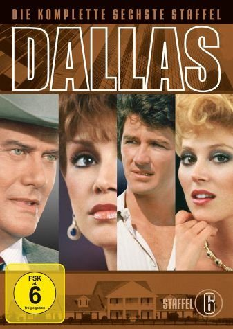 DVD »Dallas - Die komplette sechste Staffel (8 DVDs)«