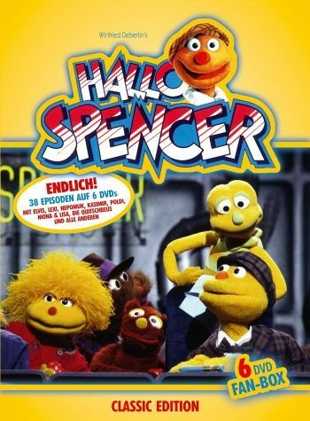 DVD »Hallo Spencer (6 DVD Fan Box)«