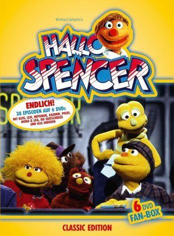 DVD »Hallo Spencer (6 DVD Fan Box)«
