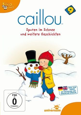 DVD »Caillou 09 - Spuren im Schnee und weitere...«