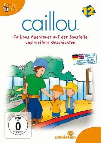 DVD »Caillou 12 - Caillous Abenteuer auf der...«