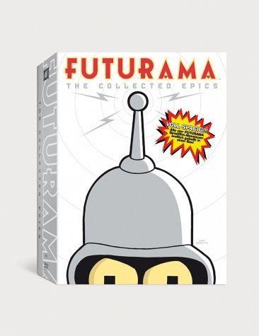 DVD »Futurama: Movie Collection (4 DVDs)«
